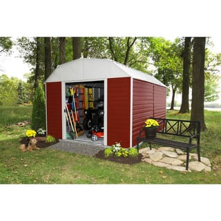 Arrow Red Barn Steel Shed|https://ak1.ostkcdn.com/images/products/5411734/P13206766.jpg?impolicy=medium