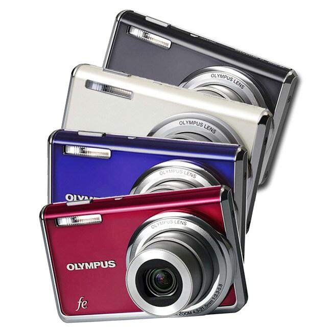 Olympus X-935 12MP Digital Camera (Refurbished)