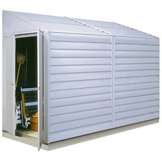 Arrow Yardsaver (4' x 10') Steel Shed|https://ak1.ostkcdn.com/images/products/5411847/P13206827.jpg?impolicy=medium