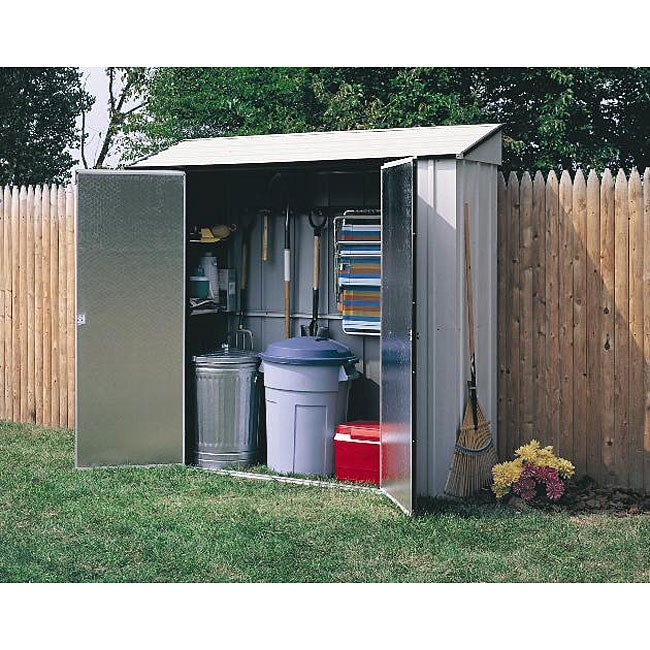 Arrow Steel Storage Locker Shed