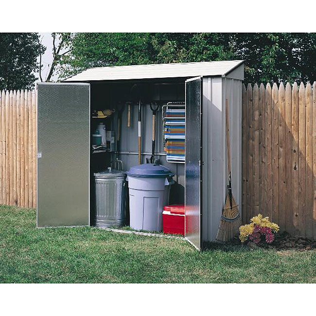 Arrow Steel Storage Locker Shed Free Shipping Today
