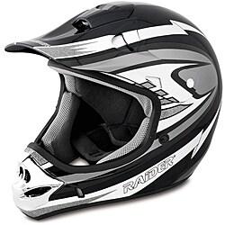 Raider Adult Silver MX 3 Helmet