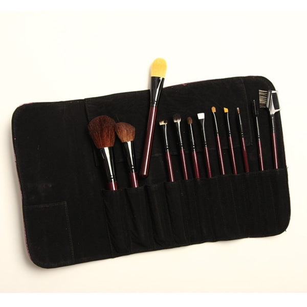 Morphe 618 Sable 12-piece Makeup Brush Set
