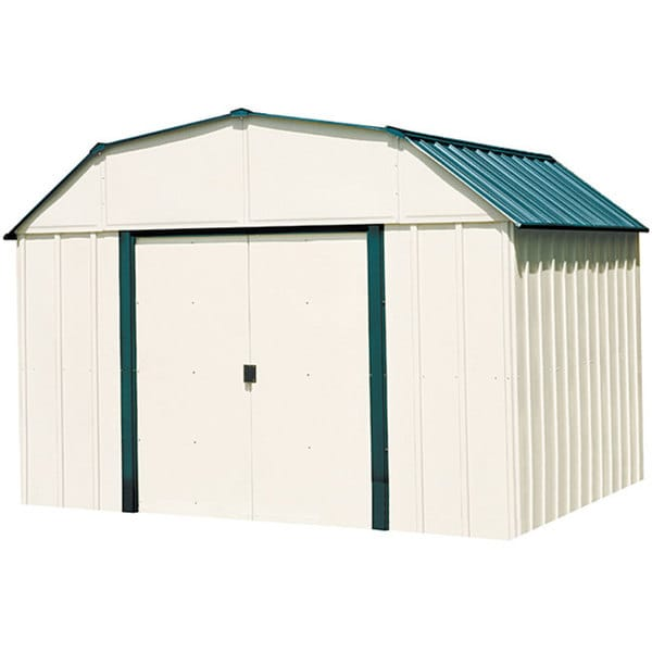 Arrow Sheridan 10x14 Foot Vinyl Coated Steel Shed Free