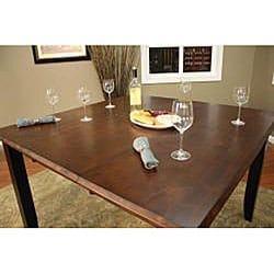 pennie 7 piece butterfly leaf counter height dining set thumbnail 2