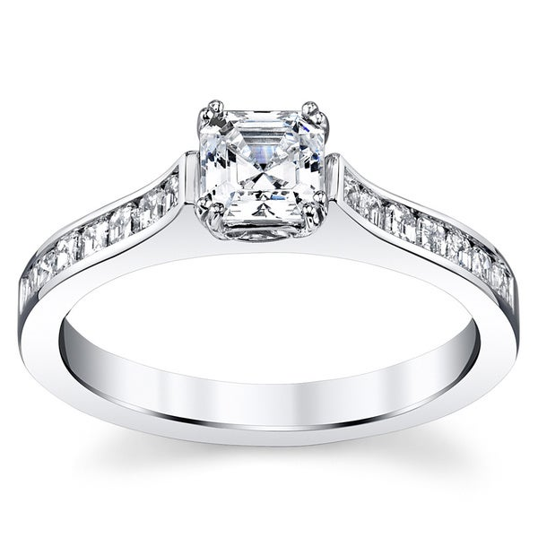 14k White Gold 1 5/8ct TDW Diamond Ring