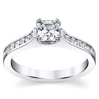 14k White Gold 1 5/8ct TDW Diamond Ring (H-I, VS1-VS2)