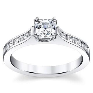 14k White Gold 1 5/8ct TDW Diamond Ring