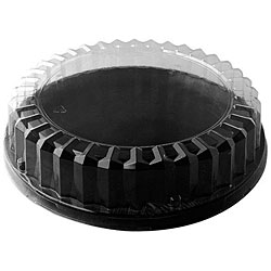 Clear Plastic Dome Lids (Case of 24)
