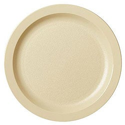 Cambro 7.25-in Beige Plates (Case of 48)