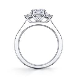14k White Gold 4/5ct TDW Diamond Engagement Ring (H-I, VS1-VS2)