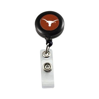 Texas Longhorns Retractable Badge Reel Id Ticket Clip