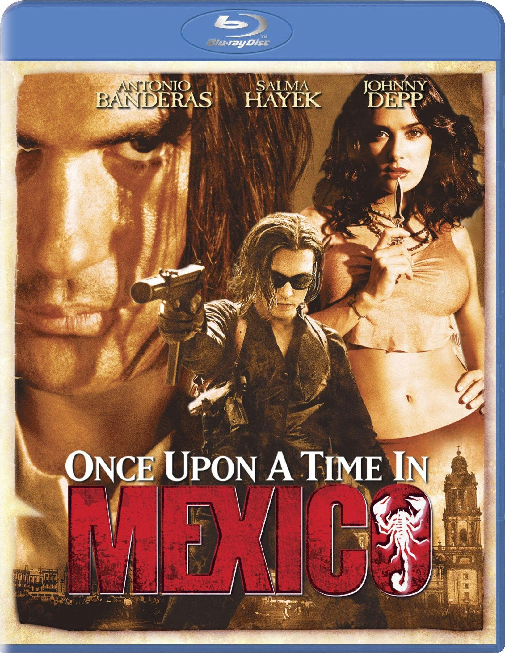 Once Upon a Time in Mexico (Blu-ray Disc)