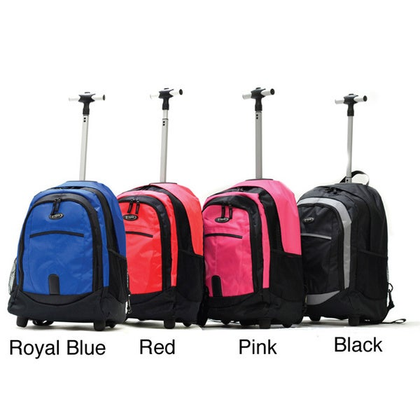 Olympia Delta 19-inch Rolling Backpack - Free Shipping On Orders ...