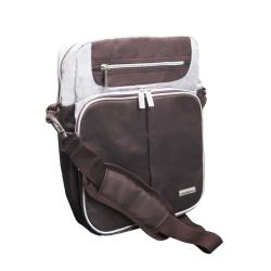 Olympia 13.5-inch Polyester Unisex Vertical Laptop Messenger Bag