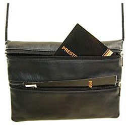 Castello Romano Slim Leather Traveling Pouch - Thumbnail 2