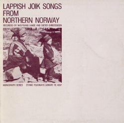Various - Lappish Joik Songs from Northern Norway
