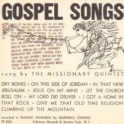 Missionary Quintet - Gospel Songs