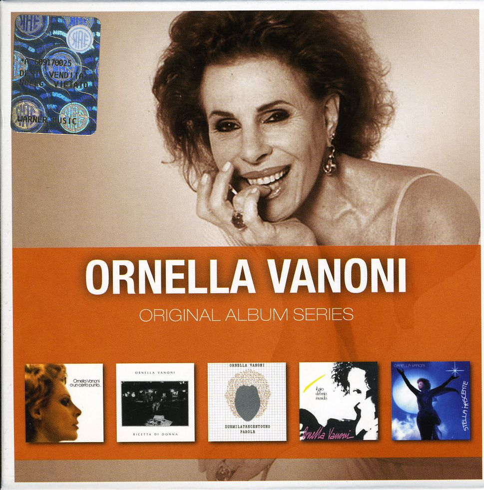 ORNELLA VANONI - ORIGINAL ALBUM SERIES