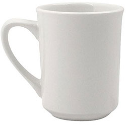 World Tableware 8.5-oz White Mugs (Case of 36)