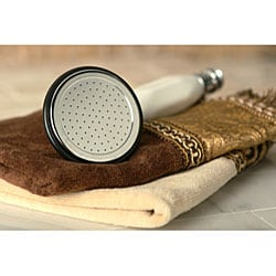 Double-Handle Deck-Mount Chrome Clawfoot Tub Faucet - Thumbnail 2