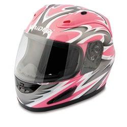 Raider Pink Full Face Street Helmet