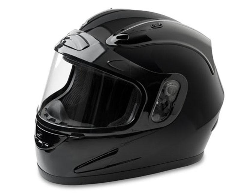 Mossi Black Full Face Snow Helmet