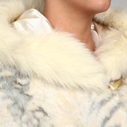 Nuage Women's Faux Fur Hooded Coat