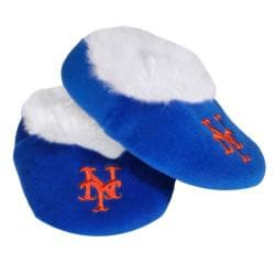 New York Mets Baby Bootie Slippers - Thumbnail 1