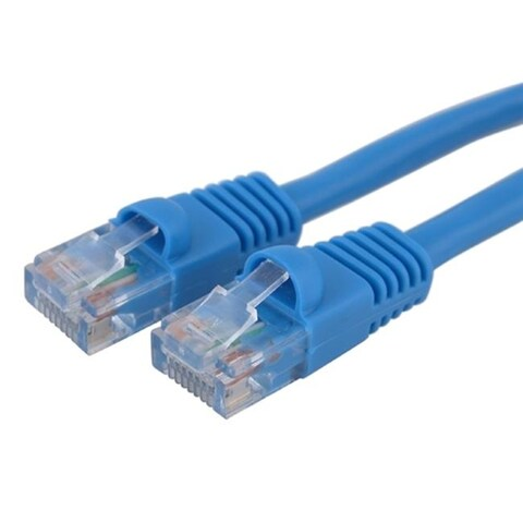 INSTEN Blue CAT5E 50-foot Ethernet Cable