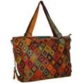 Amerileather 'Bailey' Lambskin Tote Bag