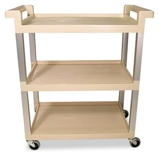 Rubbermaid 3-Shelf Service Cart