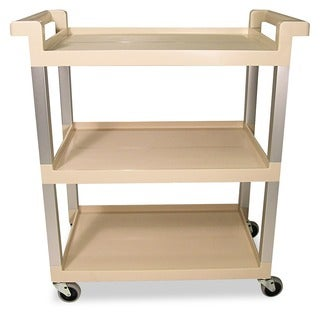 Rubbermaid 3-Shelf Service Cart