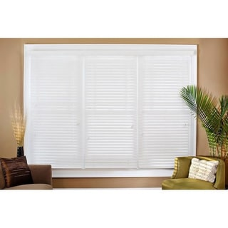 Faux Wood 22-inch Blinds