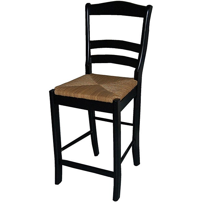 Simple Living Parker Black 24 Inch Stool Free Shipping