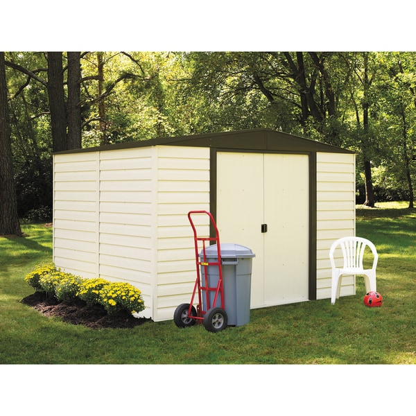 Arrow Dallas (10' x 8') Vinyl-coated Steel Shed