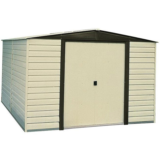 Arrow Sheds Dallas Vinyl-coated Steel Shed