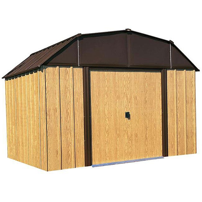Arrow Woodview Steel Shed