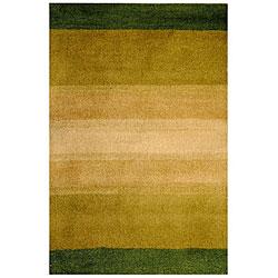 Herat Oriental Indo Hand-tufted Tibetan Multicolor Wool Rug (3' x 5')