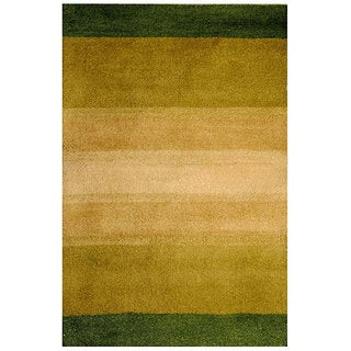 Herat Oriental Indo Hand-tufted Tibetan Wool Rug (4' x 6')
