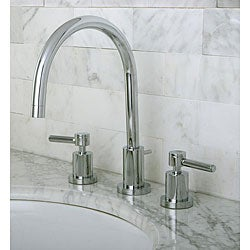 Concord Chrome Widespread Lever Handle Bathroom Faucet
