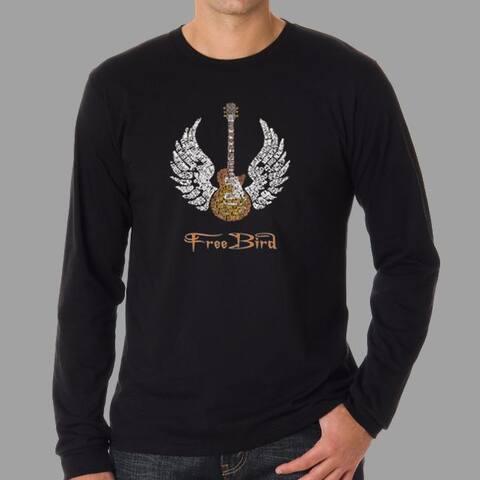 Los Angeles Pop Art Men's 'Freebird' T-shirt