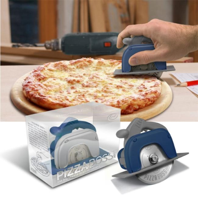 Pizza Boss 3000 Circular Saw Pizza Slicer