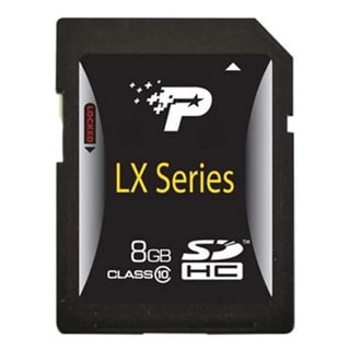 Patriot Memory 8GB LX Series Class 10 SDHC