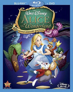 Alice In Wonderland 60th Anniversary Edition (Blu-ray/DVD)