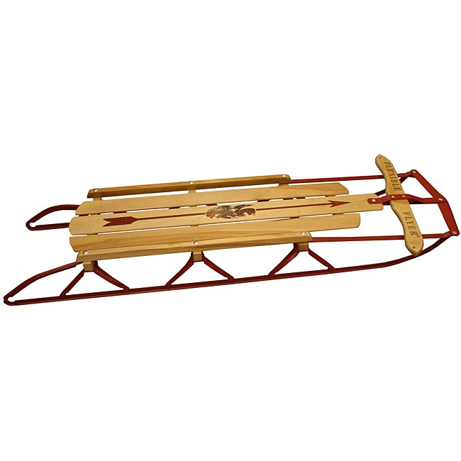Flexible Flyer Traditional 48-inch Wood Sled