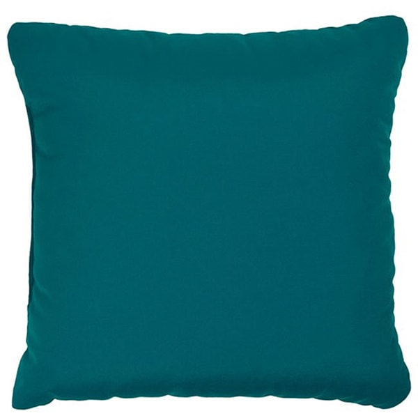 Teal 18-inch Knife-edged Indoor/ Outdoor Pillows with Sunbrella Fabric (Set of 2)