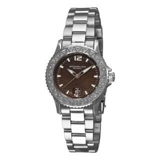 Stuhrling Original Women's Regatta Madam Diamond Stainless-Steel Swiss Quartz Watch