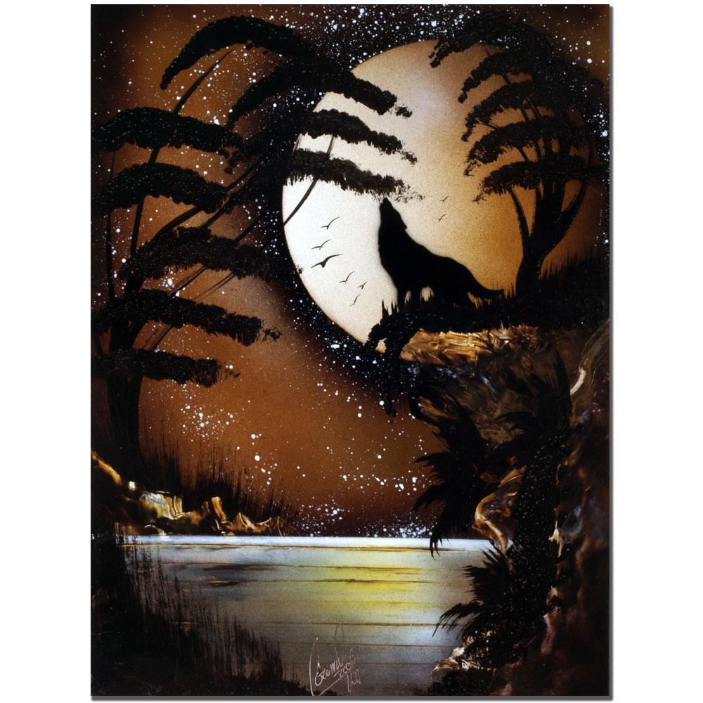 Conrad 'The Hunt' Canvas Art