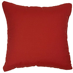 Jockey Red 18-inch Knife-edged Outdoor Pillows with Sunbrella Fabric (Set of 2)